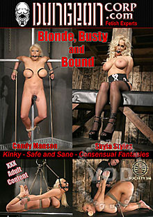 Blonde, Busty And Bound Box Cover