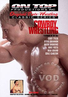 Cowboy Wrestling Box Cover