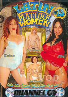 Latin Mature Women #13 Box Cover
