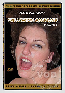 The London Gangbang Volume 1 Box Cover