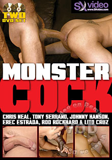 Monster Cock Box Cover