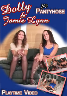 Dolly & Jamie Lynn J/O Pantyhose Box Cover