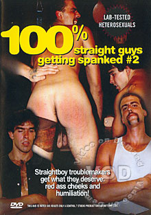 100% Straight Guys Getting Spanked #2 Box Cover
