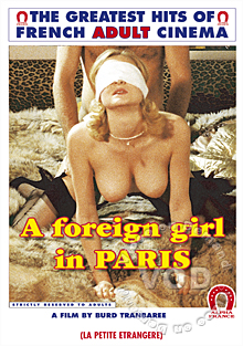 A Foreign Girl In Paris (English Language) Box Cover
