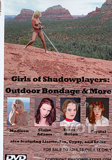 Girls Of Shadowplayers: Outdoor Bondage & More Box Cover