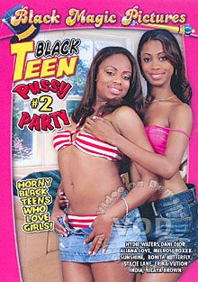 Black Teen Pussy Party #2 Box Cover