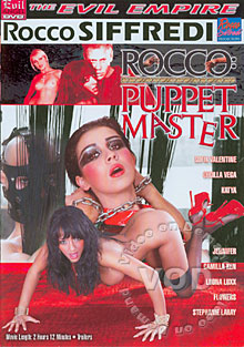 Rocco:  Puppet Master Box Cover