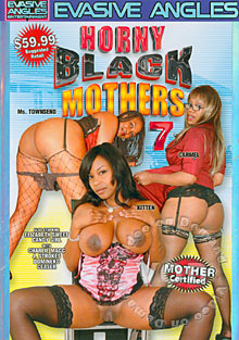 Horny Black Mothers 7 Box Cover