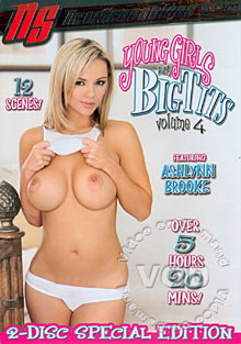 Young Girls With Big Tits Volume 4 - Disc 2 Box Cover