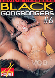 Black Gangbangers #6 Box Cover