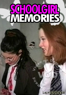Schoolgirl Memories Box Cover