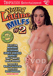 Young Latina MILFs #2 Box Cover