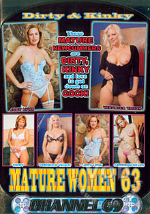 Dirty & Kinky Mature Women 63 Box Cover