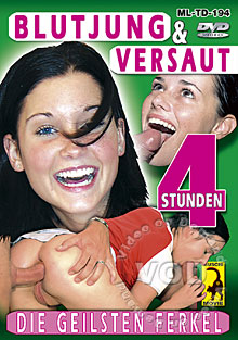 Blutjung & Versaut (Extremely Young & Nasty) Box Cover