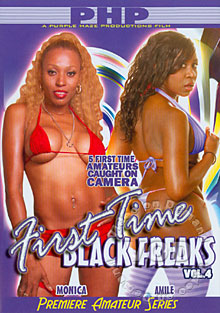 First Time Black Freaks Vol. 4 Box Cover