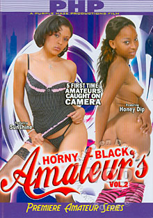 Horny Black Amateur's Vol 2 Box Cover