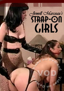 Jewell Marceau's Strap On Girls Box Cover