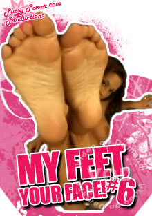 My Feet, Your Face! #6 Box Cover
