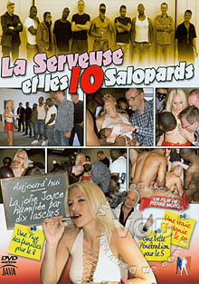 La Serveuse Et Les 10 Salopards Box Cover
