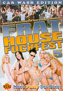 Frat House Fuckfest 5 Box Cover