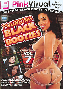 Pounding Black Booties Vol. 7 Box Cover