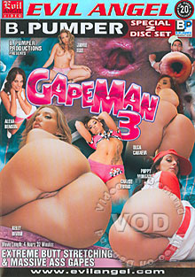 Gapeman 3 (Disc 1) Box Cover