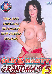 Old & Nasty Grandmas 5 Box Cover