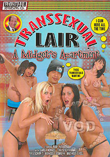 Transsexual Lair - A Midget's Apartment Box Cover