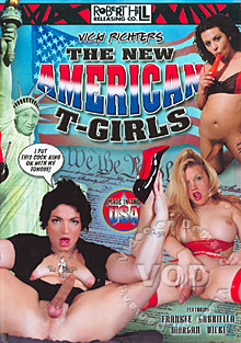 The New American T -Girls Box Cover
