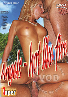 Angels Hot Like Fire Box Cover
