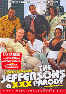 The Jeffersons - A XXX Parody (Disc 1) Box Cover
