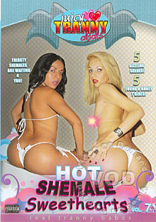 Hot Shemale Sweethearts Vol. 7 Box Cover