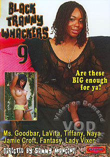 Black Tranny Whackers 9 Box Cover