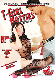 T-Girl Hotties Volume 3 Box Cover