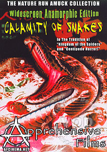 Calamity Of Snakes Box Cover