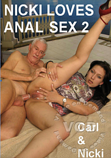 Nicki Loves Anal Sex 2 Box Cover