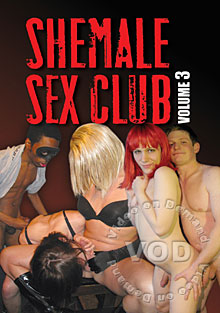 Shemale Sex Club Volume 3 Box Cover