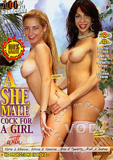 A She Male Cock For A Girl Box Cover