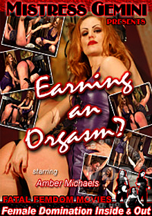 Earning An Orgasm? Box Cover