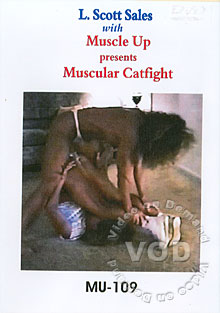 MU-109: Muscular Catfight Box Cover