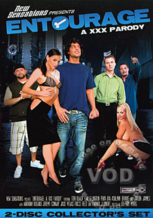 Entourage - A XXX Parody (Disc 1) Box Cover