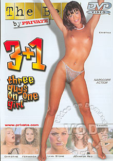 3+1 - Three Guys On One Girl Box Cover