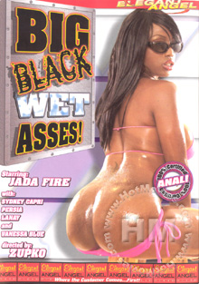 Big Black Wet Asses! Box Cover
