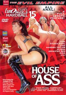Euro Angels Hardball 15: House Of Ass Box Cover