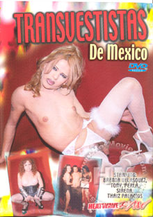 Transvestistas De Mexico Box Cover