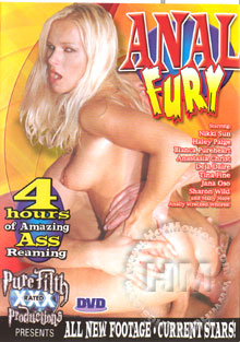 Anal Fury Box Cover