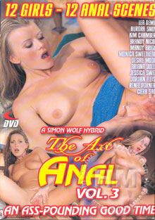 The Art Of Anal Vol. 3