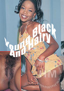 Young Black And Hairy Box Cover