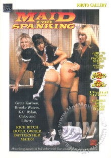 Maid For Spanking Box Cover