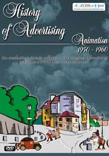 History Of Advertising Animation 1950 - 1960 Box Cover